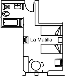 La Matilla floor plan
